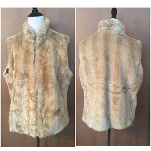 🆕 Beautiful Faux Fur Vest !